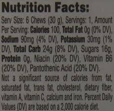 gatorade prime energy chews fruit