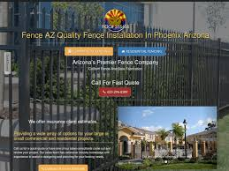 Website Portfolio Examples Fence Company Local Campaign By Tradesouthwest