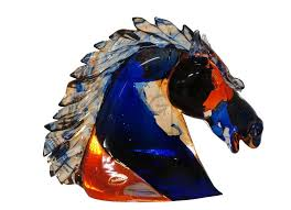 murano glass animal sculpture by mario