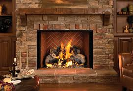 clean a brick fireplace