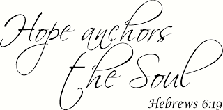 Hebrews 6 19 Hope Anchors The Soul Bible Verse Wall Decal Art Our Christian Sold By Bible Verse Wall Decals On Storenvy