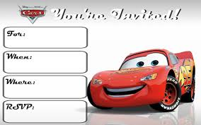 Cars 3 Free Printable Invitations Cumpleanos