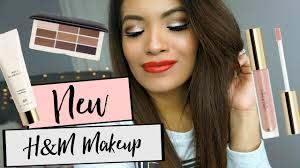 h m beauty makeup review demo