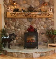 hand carved fireplace mantels rustic