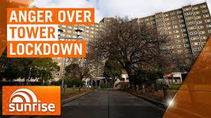 Melbourne towers lockdown