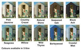 Cuprinol Garden Shades 5l Willow Garden Paint