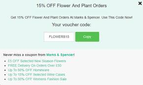marks and spencer promo code us لم يسبق