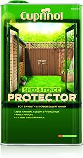 Cuprinol 5l Shed And Fence Protector Acorn Brown Amazon Co Uk Diy Tools