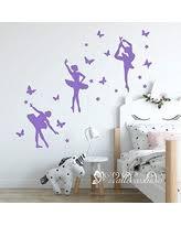 Huge Deal On Dancing Ballerina Wall Decal Large 36 W X 36 H Black Ballerina Silhouette Ballet Dancer Decor