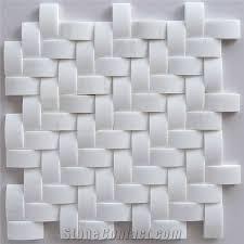 bread white marble mosaic tiles