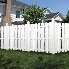 Freedom Pre Assembled Shadowbox 6 Ft H X 6 Ft W White Vinyl Dog Ear Fence Panel In The Vinyl Fence Panels Department At Lowes Com