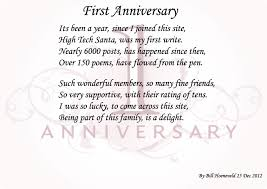 first year anniversary dating poem