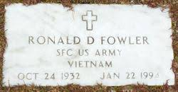 "Ronald Delano ""Ron"" Fowler (1932-1994) - Find A Grave Memorial"