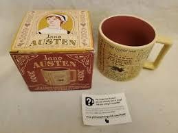 the unemployed philosophers guild mug jane austen quotes coffee