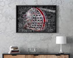 Ohio State Poster Etsy