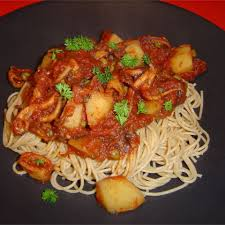 Octopus in Tomato Sauce Recipe