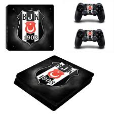 Turkey Football Besiktas Bjk Ps4 Slim Skin Sticker For Sony Playstation 4 Console And Controller Decal Ps4 Slim Sticker Vinyl Consoleskins Co