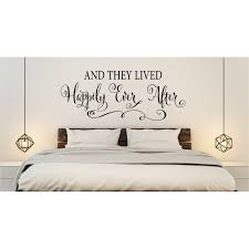 Winston Porter And They Lived Happily Ever After Wedding Wall Decal Wayfair