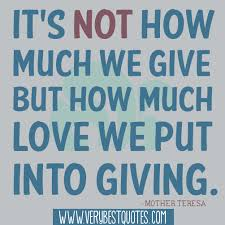 famous giving quotes quotesgram