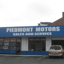 piedmont motors car dealers 318