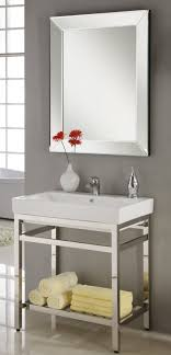 31 inch industrial console bathroom