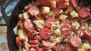 sauer and kielbasa recipe food