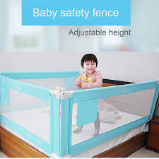 Baby Bed Fence Home Kids Playpen Safety Gate Products Child Care Barrier For Beds Crib Rails Security Fencing Baby Safe Guard Baby Playpens Aliexpress