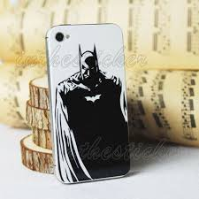 Batman Apple Iphone Decal Iphone 4s Sticker Avery Iphone 5 Back Cover Decal Sticker Skin Iphone Decal Apple Iphone Iphone