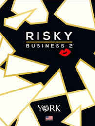 risky business 2 wallpaper book by york
