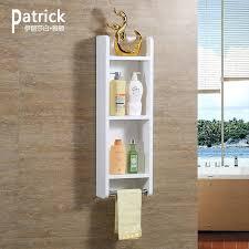 bathroom wall storage shelves wall
