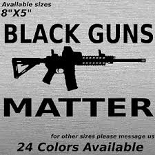 Black Guns Matter Decal Window Sticker Ar 15 Rifle Assault 2nd Amendment Ebay