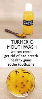 turmeric mouthwash the indian spot