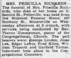 Priscilla Price Funeral - Newspapers.com
