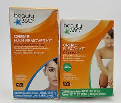 beauty 360 creme bleach kit face body