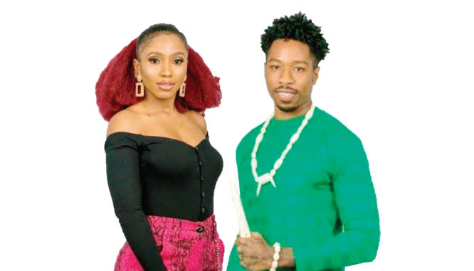"""Image result for bbnaija ike and macy get married"""""""
