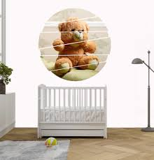 Care Bear Wall Teddy Art Sticker Polar For Nursery Blue Mamas And Papas Baby Picnic Tatty Vamosrayos