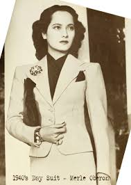 Day Suit Merle Oberon Photo | Background Wallpapers Images