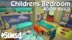 The Sims 4 Room Build Childrens Bedroom Youtube