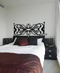 Headboard Design Vinyl Wall Decal Sticker Os Aa1160 Stickerbrand