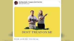 No trespassing at Ken & Karen's: Video ...