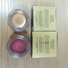 rose dold copper creme eyeshadow