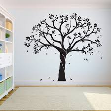 Big Discount 5b2d Tree Wall Decal Sticker Bedroom Tree Of Life Roots Birds Flying Away Home Decor Leaves Falling Studiodecor A7 022 Cicig Co