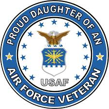 Amazon Com Us Air Force Veteran Proud Daughter Decal Military Veteran Served Window Bumper Sticker Vinyl Decal 3 8 Automotive