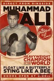 2020 ali boxing vintage wall