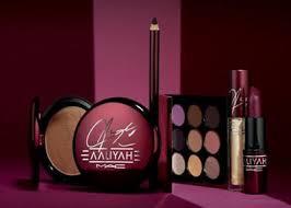 mac cosmetics aaliyah haughton project