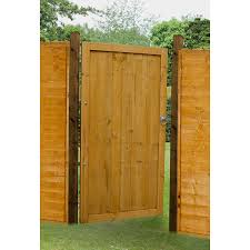 Forest Garden Dip Treated Featheredge Gate 182cm H X 91cm W X 4 4cm D
