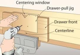 homemade drawer pull jig