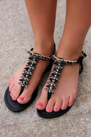 Dreams Come True Sandal - Black from UOI Boutique. Shop more products from  UOI Boutique on Wanelo. | Black sandals, Sexy sandals