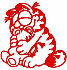 Garfield Cat Vinyl Decal Sticker For Cars Windows Laptops And More Ebay