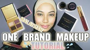 one brand makeup tutorial msia